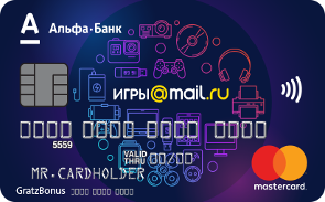 Кредитная карта Игры@mail.ru