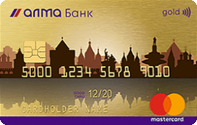 Дебетовая  Золотая карта ТП Стандартный