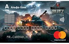 Дебетовая карта World of Tanks Blitz