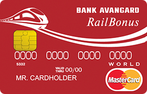 Кредитная карта «MasterCard World Railbonus»