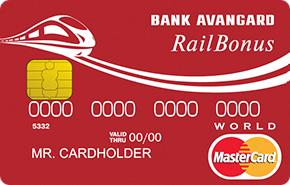 Кредитная карта «MasterCard World Railbonus»