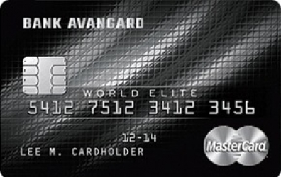 Кедитная карта «MasterCard World Elite»
