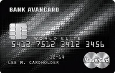 Кедитная карта «MasterCard World Elite»