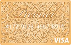 Дебетовая премиальная подарочная предоплаченная карта Premier