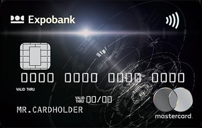 Дебетовая карта «MasterCard Вlack Edition»