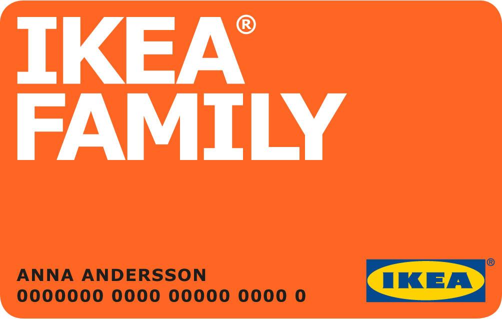 Кредитная карта «IKEA FAMILY»