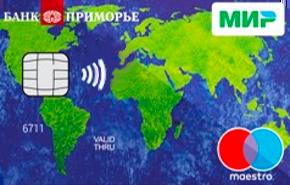 Дебетовая карта «Пенсионная МИР-Maestro»