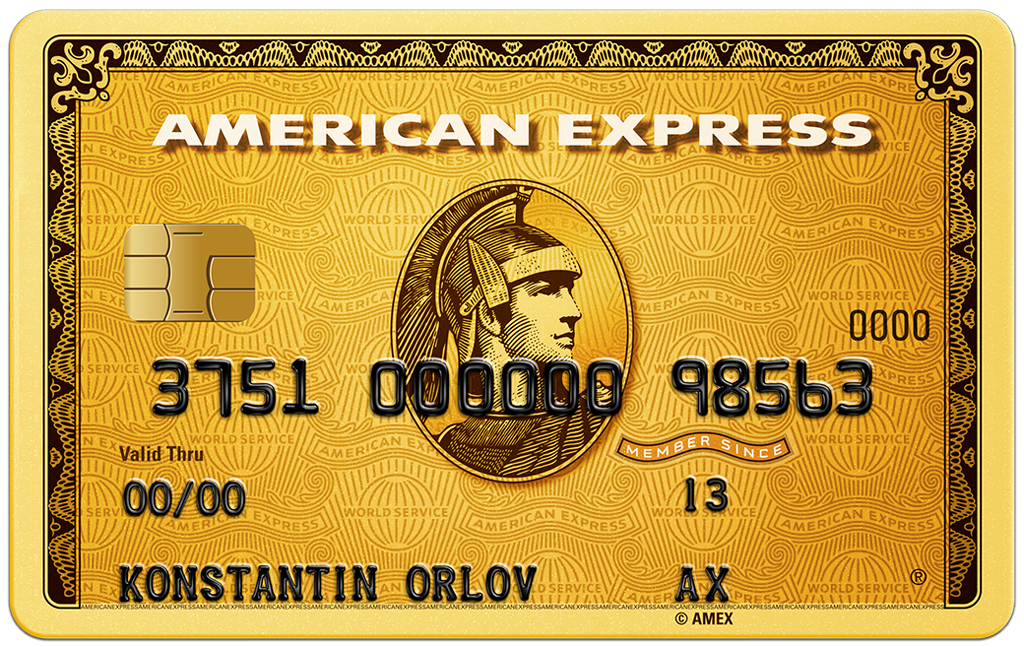 Кредитная карта American Express Gold Card