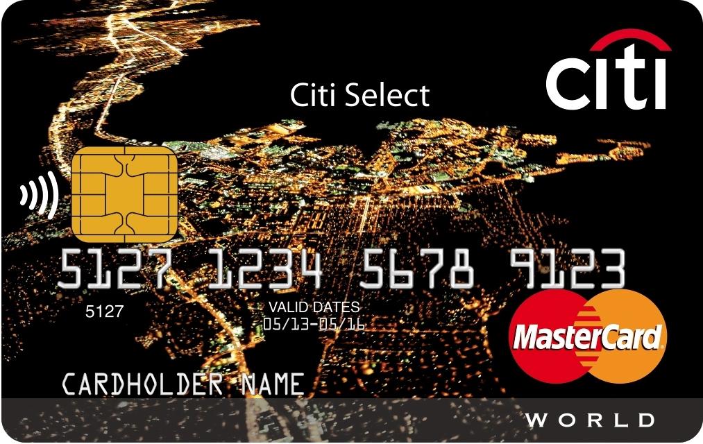 Кредитная карта «Citi Select Premium»