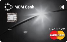 Кредитная карта «Бесконтактная» Platinum