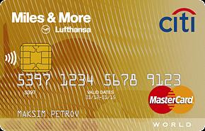 Кредитная карта «Miles & More Premium»