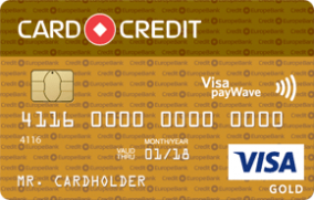 Кредитная карта «Card Credit Gold»