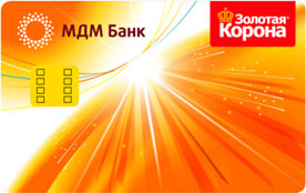 Кредитная карта «Кобейджинговая Mastercard Золотая корона»
