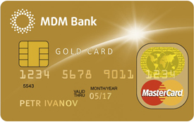 Кредитная карта «Золотая Частный»