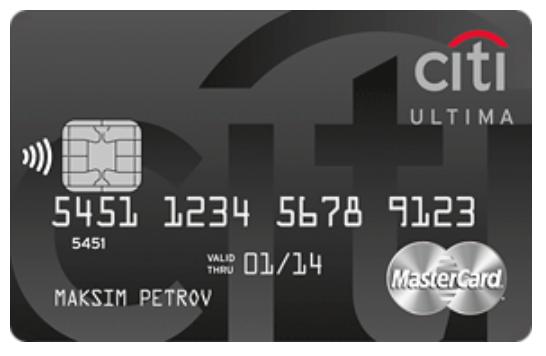 Кредитная карта Ultima с программой Citi Select