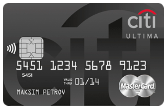 Кредитная карта Citi Ultima