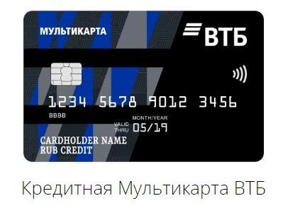 Кредитная Мультикарта Cash Back