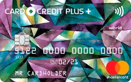 Кредитная карта «CARD CREDIT PLUS+»