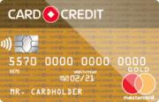 Кредитная карта «Card Credit Gold с ежемесячной комиссией»
