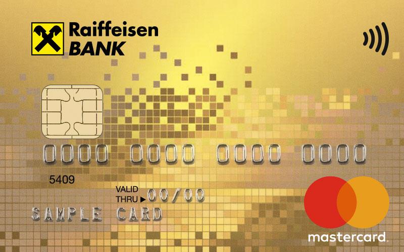 Дебетовая карта с кэшбеком на АЗС Mastercard Gold Package
