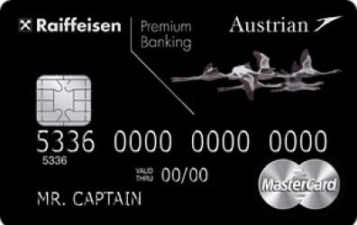 Кредитная карта «Austrian Airlines-MasterCard World Black Edition»