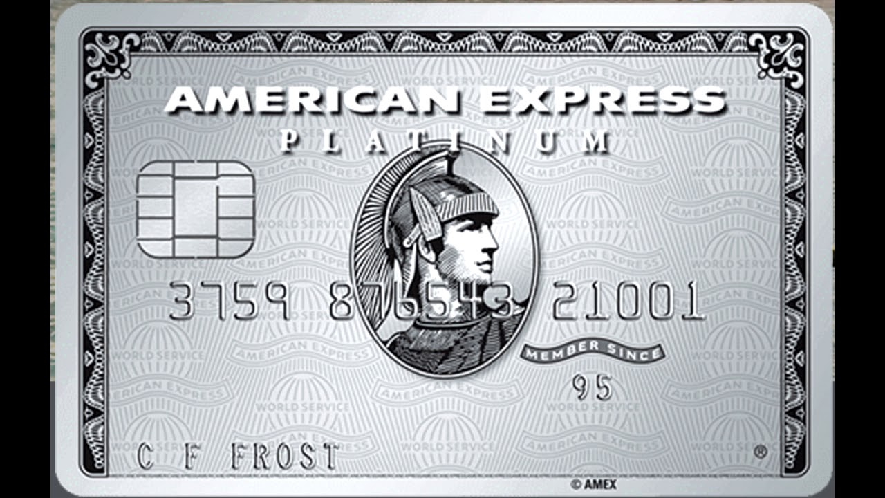 Кредитная карта American Express The Platinum Card