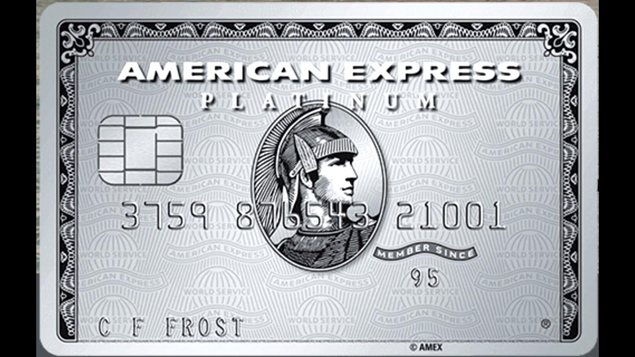 Кредитная карта American Express The Platinum Card