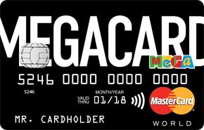Кредитная карта «MEGACARD»